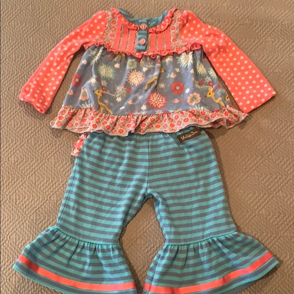 Matilda Jane | Christmas pajama set